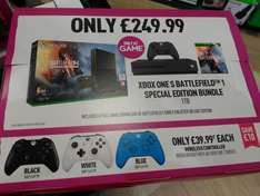 Xbox One S 1TB - Battlefield 1 One Early Enlister Deluxe edition @ Game £249.99