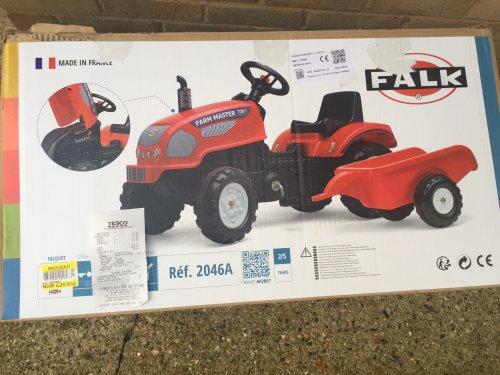 Falk tractor and trailer instore @ Tesco - £20.65 (Peterborough)