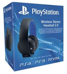 PS4 Sony Wireless Headset 2.0 Black - £49.99 (Sainsbury's In Store/Online)