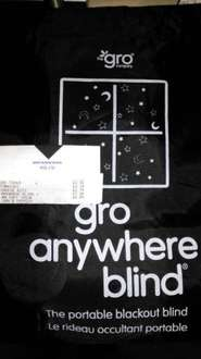Gro Anywhere blind Reduced to clear £14.74 but scans for £7.38. @ tesco extra Norwich