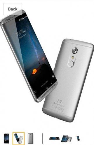 ZTE Axon 7 64GB Dual SIM - EU Model - 2+1y Warranty £399 @ Amazon DE