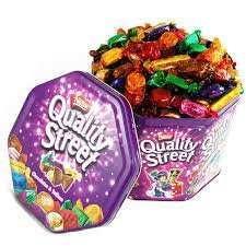 Quality Street Chocolates in a Tub (780g) ONLY £3.99 @ LIDL Instore