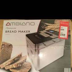 Aldi Premium Stainless Steel Bread Maker reduced from 49.99 to 19.99. Flint