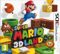 Super Mario 3D Land £13.27/Animal Crossing 3DS £15.91 (Pre-owned) with code @ Music Magpie