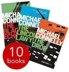 Michael Connelly Collection - 10 Books (Collection) £9.99 Plus £2.95 delivery £12.94 (free del over £25) @ The book people