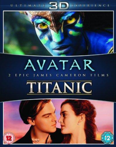 Avatar/Titanic [Blu-ray 3D + Blu-ray] £12.34 Prime or £14.31 non prime @ Amazon