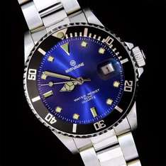NOS Mirvaine divers style quartz watch £8.99 (or less) delivered @ eBay (dreams4all)