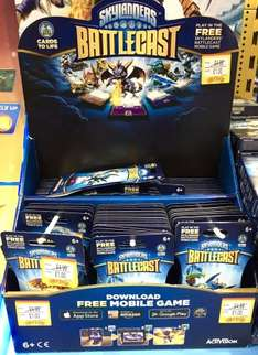 Skylanders Battlecast £1 Booster / £4.99 Packs instore at Smyths Toys