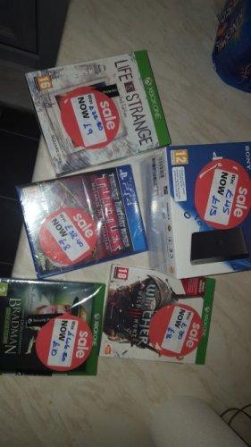 Various xbox one and ps4 deals £8 @ asda newport