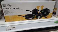 Set of 4 non stick pots and pans 14,18,24cm and frying pan in asda only £5