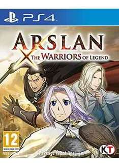 arslan the warriors of legend (ps4) £11.99 @ base