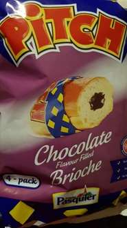 Pasquier Pitch Chocolate filled Brioche 49p at Heron