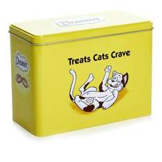 Dreamies Tin with 5 packets each 60g £4 Wilko