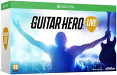 Guitar Hero Live with Guitar Controller (Xbox One/PS4) £26.99 @ Amazon (Argos Price Match)