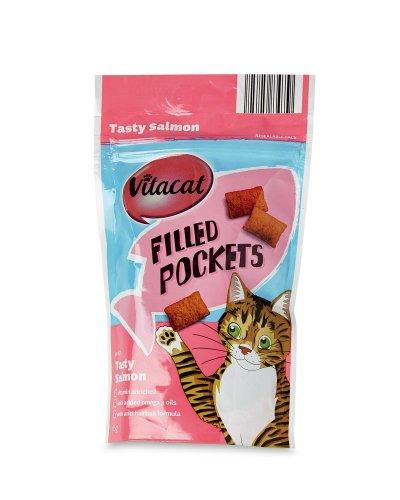 Vitacat Filled Pockets (Aldi's Cat Treats) 59p (65G Bag)