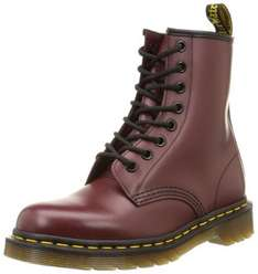 Dr martens unisex cherry red boot Size 8 £26.69 @ Amazon