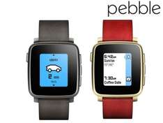 Pebble Time Steel smartwatch on Ibood for 89.95£ + 7.95 shipping at ibood