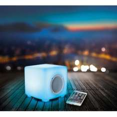 Kitsound Glow Bluetooth Outdoor Speaker With Remote Control & Light Display - £14.99 - eBay/Vodafone (Amazon Prime)