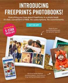 Get a FREE Photo Book with FreePrints