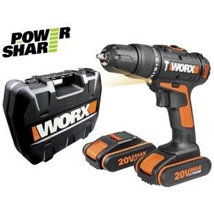 Worx 20V Li-Ion Hammer Drill with 2 Batteries. £59.99 @ Argos Half Price.