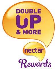 Nectar Double-Up Back 16th - 22nd November - Sainsburys