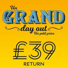 Day return to Paris, Brussels or Lille - £39 @ Eurostar