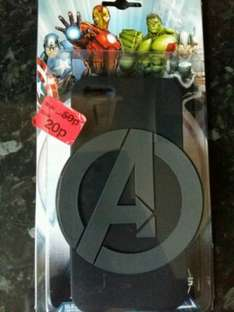 Marvel Avengers iPhone 5/5s phone case 20p! (was £4) Primark Plymouth