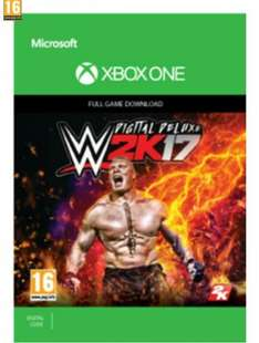 WWE 2K17 Digital Deluxe Edition £54.99 @ Game. Possible mis-price!
