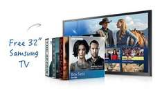 Free Samsung TV when you upgrade to box sets £38/pm new sky customers