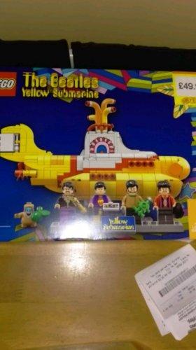 Lego Beatles Yellow Submarine £49.99 @ Smyths