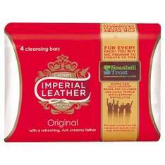 4 Pack Imperial Leather Soap £1 at ASDA (Instore or minimum online spend £25)