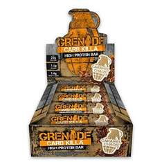 Grenade Carb Killa High Protein and Low Carb Bar, Caramel Chaos - 12 x 60 £16.76 S&S @ Amazon