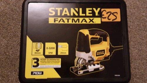 Stanley FatMax Jigsaw - £25 instore @ Homebase