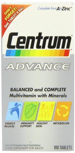 Centrum Advance Multivitamin and Multiminerals 100 Tablets (4 for 3) £10.50 prime / £14.49 non prime @ Amazon
