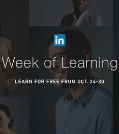LinkedIn Learning is 100% free until October 30th