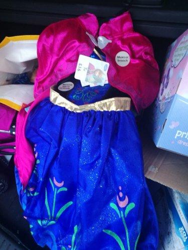 frozen anna musical broach dress up Sainsbury's