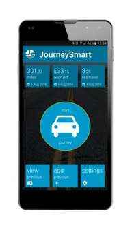 JourneySmart automatic mileage tracking app 30 days free @ Google Play