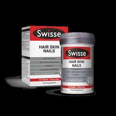 Swisse Ultiplus Hair Skin Nails - 60 Tablets now £22.99 + 3 for 2 + 1500pts back at Boots