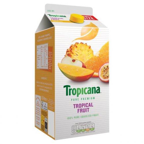 Tropicana Tropical Fruit - Family Size - Poundland