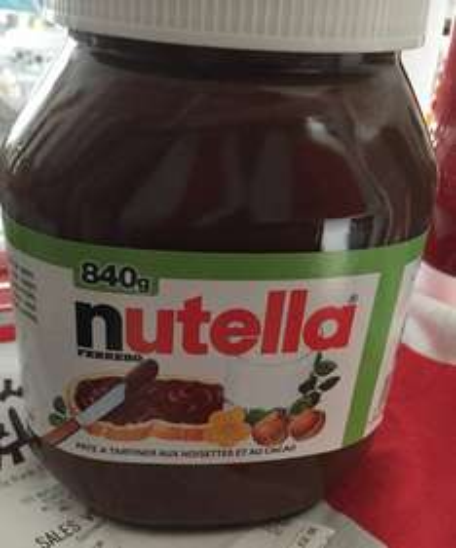 Nutella 840g £3.79 @ B&M