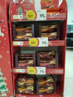 Wilkos Thorntons double chocolate wafer rolls and caramel rolls and Reeses rounds 95p