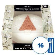 Tesco Finest Christmas Cake £6.66 serves 16
