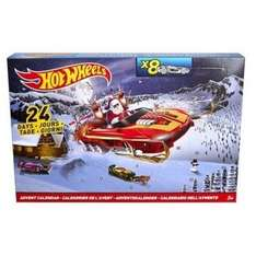 Hot Wheels Advent Calendar now £15 at Tesco Direct