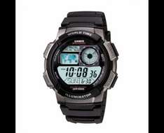 Casio Men's Black Resin World Time Digital Watch Free delivery to store @ H.Samuel  EDIT - NOW £18 for Black Friday