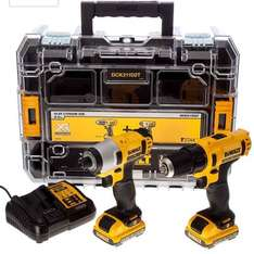 Dewalt Twin Pack 10.8v drill and compact driver £139.99 @ Amazon