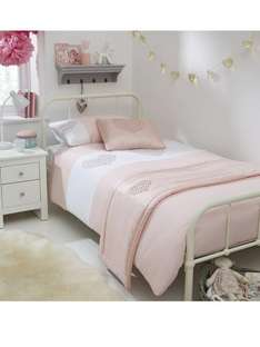 Sequin Hearts Embellished Bed in a Bag Set (was £39) Now £11.00 at Very