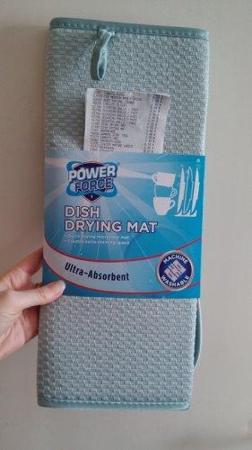 Dish Drying Mat 50p @ ALDI (Lakeland equivalent £7.99), Scouring Balls and Pads 35p