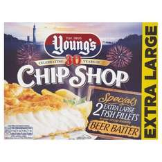 Young's fish 2 pack 99p in Farmfoods