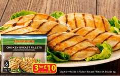 500g chicken  fillets 99p in farmfoods