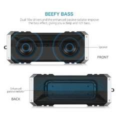 20W (2x10W) VTin Bluetooth Speaker, Strong Bass, 25-Hour Music Time, Built-in Microphone @amazon free p&p